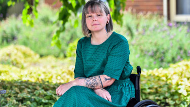 Disability and family violence activist Nicole Lee does not support criminalising coercive control.