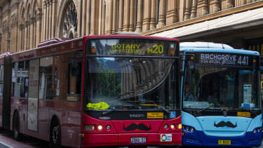 Crowding on Sydney's buses has worsened.