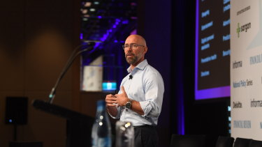 Tim Reed will step down as the head of MYOB.