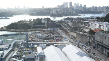 Crown is worried the development will block its sight lines across the harbour and to the Opera House.