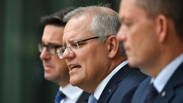 "Prime Minister Scott Morrison: ""There was nothing to suggest now at this point an intentional act."""