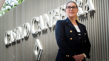 The government has asked Casino Canberra to look at a smaller redevelopment, after a stalemate over their grand  plans. Casino Canberra chief executive, Jessica Mellor