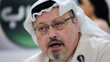 Murdered: Journalist Jamal Khashoggi.