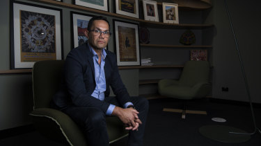 Selwyn Button, head of the Office of the Registrar of Indigenous Corporations (ORIC).
