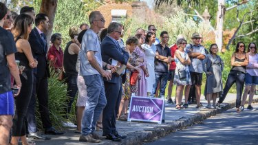 An inner west auction in April.