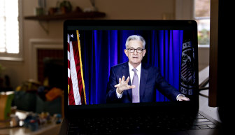 """The time to raise rates is """"no time soon"""", Fed Chair Jerome Powell says."""