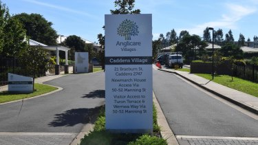 Anglicare Newmarch House in Caddens is at the centre of a COVID-19 outbreak linked to a staff member with mild symptoms.