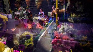The flower tram.