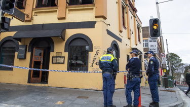 Police have accused the owner of Essenza Italian, Angelo Ziotas, of lighting the fire.