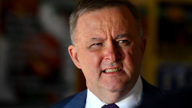 Labor's infrastructure spokesman Anthony Albanese