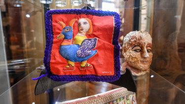 The Mirka Mora embroidery Dancer.