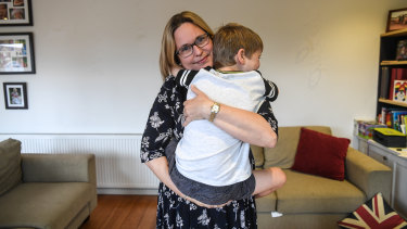 Laura Conway and her second child had reflux and struggled to sleep for more than 45 minutes at a time.