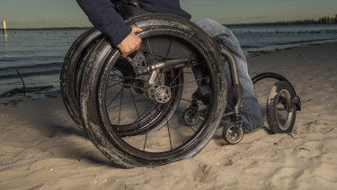 Huy Nguyen, has been wheelchair-bound since contracting polio.