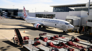 Virgin would keep international flights under a plan put forward by management.