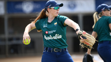 Rachel Lack is leaving for the Tokyo Olympics on Monday with the Australian softball team.