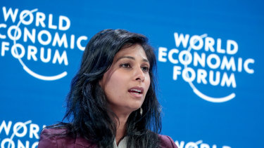 IMF chief economist Gita Gopinath said there were signs of early recovery in many countries that were reopening their economies, but new waves of infections and reimposed lockdown measures still posed risks.
