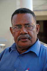 Retired PNGDF commander Jerry Singirok, pictured in 2006.