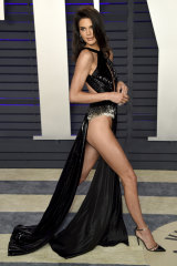 Kendall Jenner at the Vanity Fair Oscar Party.