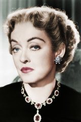 Screen icon Bette Davis.