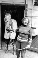 Trailblazer: Betty Lane was the first female trainer to be granted a No.1 licence, in 1980.