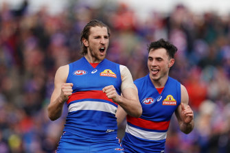 Marcus Bontempelli is the Bulldogs' new AFL captain.