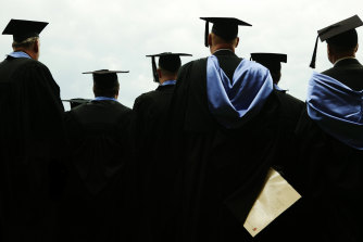 Disadvantaged students do better than advantaged ones with the same ATAR in first year, an analysis shows.