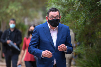 Daniel Andrews will announce Victoria's restrictions plan for the rest of November on Sunday.
