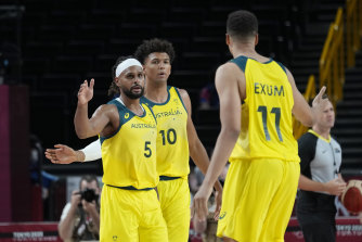 Patty Mills is a leader for the Boomers and Australia's Olympic team.