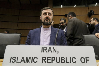 Iran's Ambassador to the International Atomic Energy Agency, IAEA, Kazem Gharibabadi