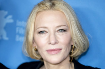 Cate Blanchett at the Berlin Film Festival.