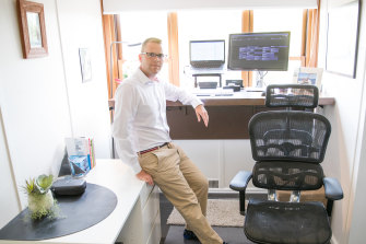 Mark Geels is looking forward to getting back into the office to see his colleagues more frequently, but he expects to continue working from home as well.