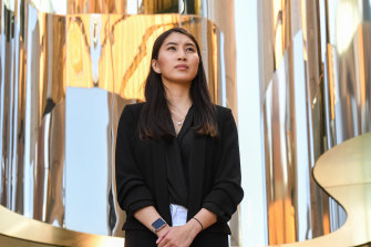 Wendy San, 24 was a beneficiary of the UTS equity program called U@Uni.