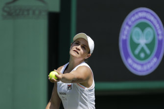 Ash Barty was the No.1 seed at Wimbledon in 2019 but has never made the quarters at SW19.