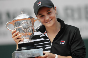 Ash Barty will have to wait a little longer to defend her French Open crown.