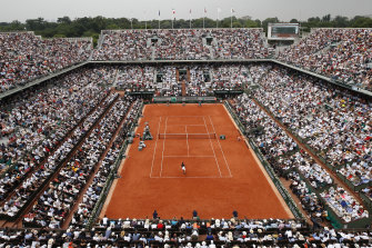 The French open as it looked last year, before the COVID-19 pandemic hit.
