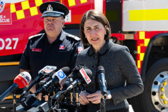 NSW Premier Gladys Berejiklian has again expressed her concern about low levels of testing.