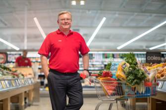 Coles chief Steven Cain has warned lower immigration rates could hurt business growth.