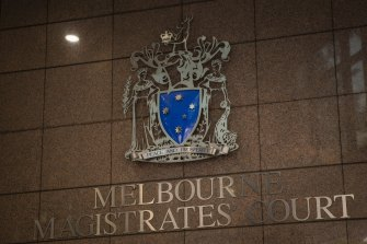 Jeffrey Corfe, 61, appeared before the Melbourne Magistrates' Court on Friday.