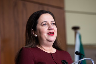 Queensland Premier Annastacia Palaszczuk delivered the latest COVID update on Thursday morning.