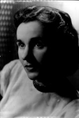 Joan Halliday in 1961.