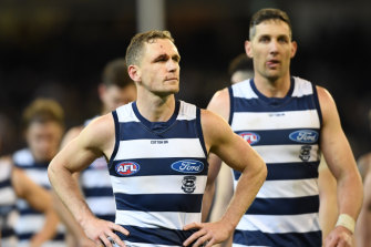 The Cats are staring down the barrel of a straight-sets exit from the finals.