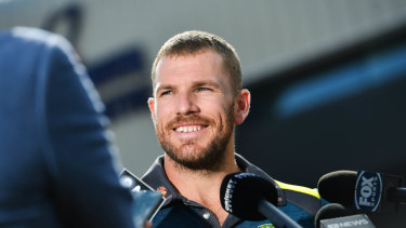 Skipper Aaron Finch must focus on scoring at the World Cup, according to coach Justin Langer.