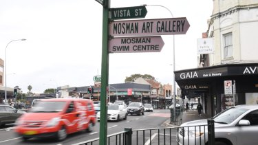 A building in the Mosman retail area was signed off even though it was not fit for occupation.
