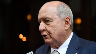 Alan Jones will lose his position on the SCG Trust if Labor wins the March election.
