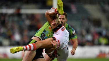 Cotric is potentially facing a four-game ban for this tackle.