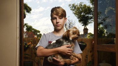 Thirteen-year-old Benji Lord was bullied at  Ashfield Boys High School. His parents decided to home school him.