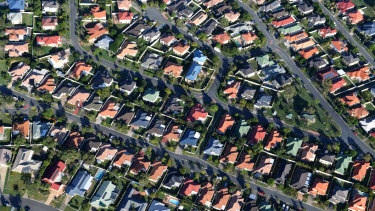 House prices have fallen in Sydney and Melbourne.