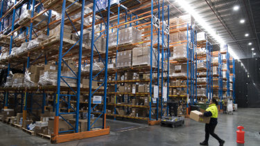 Distribution centres are key to hub and spoke solutions for deliveries.