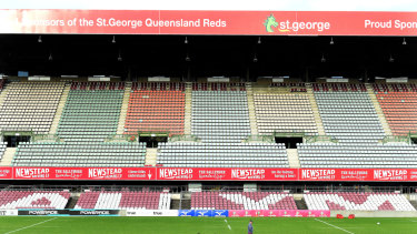 The Queensland stadiums taskforce wants the stadium's stands demolished to make way for a community facility.