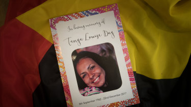 Yorta Yorta woman Tanya Day, who died after sustaining a head injury in police custody in December 2017.